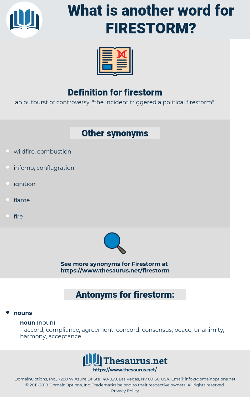 firestorm, synonym firestorm, another word for firestorm, words like firestorm, thesaurus firestorm
