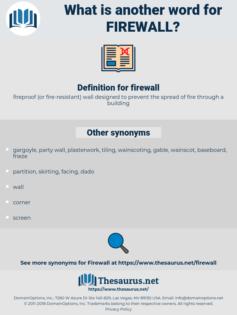firewall, synonym firewall, another word for firewall, words like firewall, thesaurus firewall