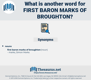 First Baron Marks of broughton, synonym First Baron Marks of broughton, another word for First Baron Marks of broughton, words like First Baron Marks of broughton, thesaurus First Baron Marks of broughton