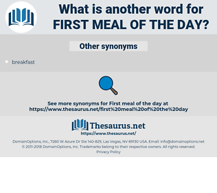 first meal of the day, synonym first meal of the day, another word for first meal of the day, words like first meal of the day, thesaurus first meal of the day