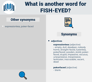 fish-eyed, synonym fish-eyed, another word for fish-eyed, words like fish-eyed, thesaurus fish-eyed