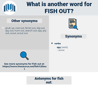 fish out, synonym fish out, another word for fish out, words like fish out, thesaurus fish out