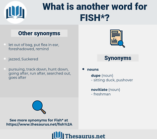 fish, synonym fish, another word for fish, words like fish, thesaurus fish
