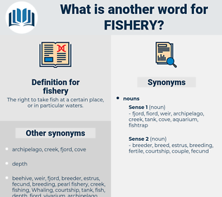fishery, synonym fishery, another word for fishery, words like fishery, thesaurus fishery