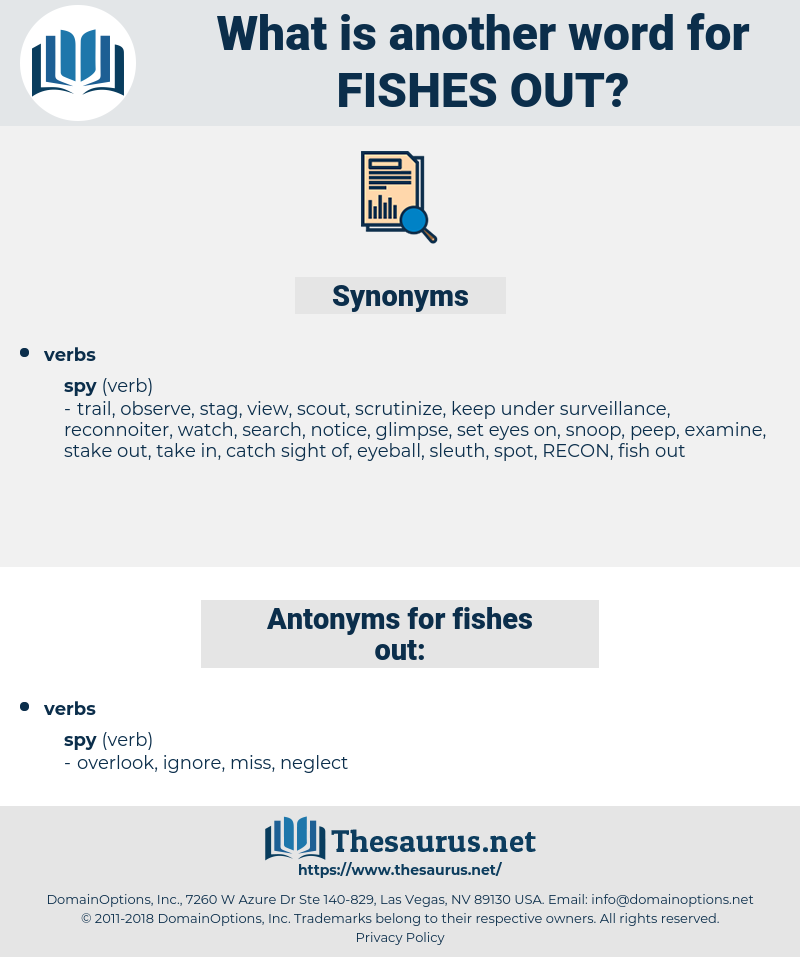 fishes out, synonym fishes out, another word for fishes out, words like fishes out, thesaurus fishes out