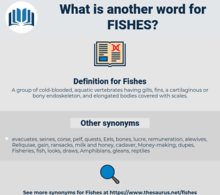 Fishes, synonym Fishes, another word for Fishes, words like Fishes, thesaurus Fishes