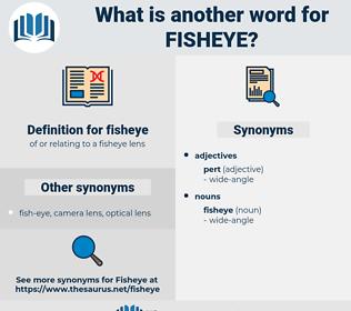 fisheye, synonym fisheye, another word for fisheye, words like fisheye, thesaurus fisheye