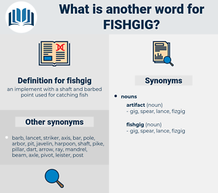 fishgig, synonym fishgig, another word for fishgig, words like fishgig, thesaurus fishgig
