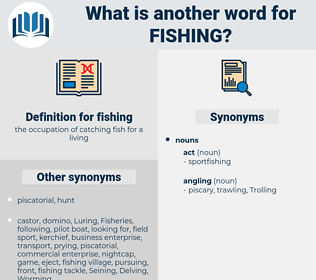 fishing, synonym fishing, another word for fishing, words like fishing, thesaurus fishing