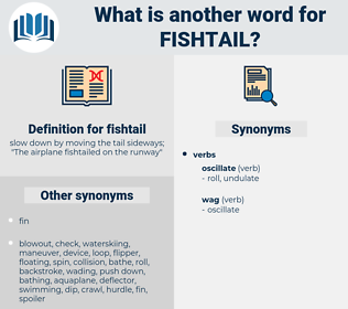 fishtail, synonym fishtail, another word for fishtail, words like fishtail, thesaurus fishtail