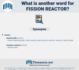 fission reactor, synonym fission reactor, another word for fission reactor, words like fission reactor, thesaurus fission reactor
