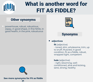fit as fiddle, synonym fit as fiddle, another word for fit as fiddle, words like fit as fiddle, thesaurus fit as fiddle