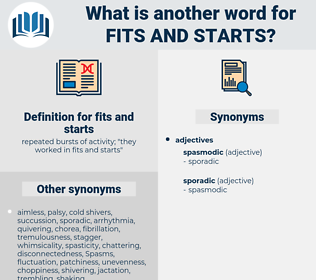 fits and starts, synonym fits and starts, another word for fits and starts, words like fits and starts, thesaurus fits and starts