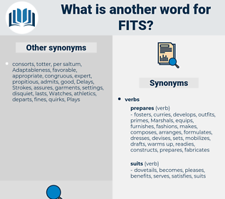 fits, synonym fits, another word for fits, words like fits, thesaurus fits