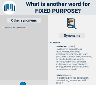 fixed purpose, synonym fixed purpose, another word for fixed purpose, words like fixed purpose, thesaurus fixed purpose