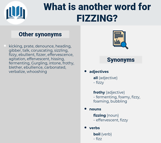 fizzing, synonym fizzing, another word for fizzing, words like fizzing, thesaurus fizzing