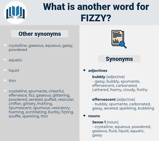 fizzy, synonym fizzy, another word for fizzy, words like fizzy, thesaurus fizzy
