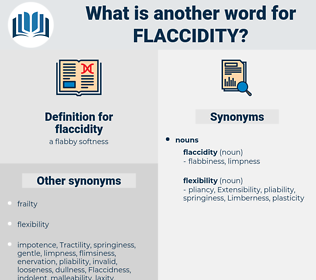 flaccidity, synonym flaccidity, another word for flaccidity, words like flaccidity, thesaurus flaccidity