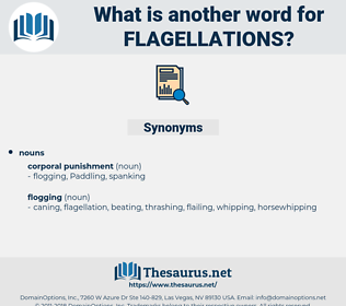 flagellations, synonym flagellations, another word for flagellations, words like flagellations, thesaurus flagellations