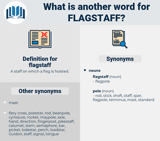 flagstaff, synonym flagstaff, another word for flagstaff, words like flagstaff, thesaurus flagstaff