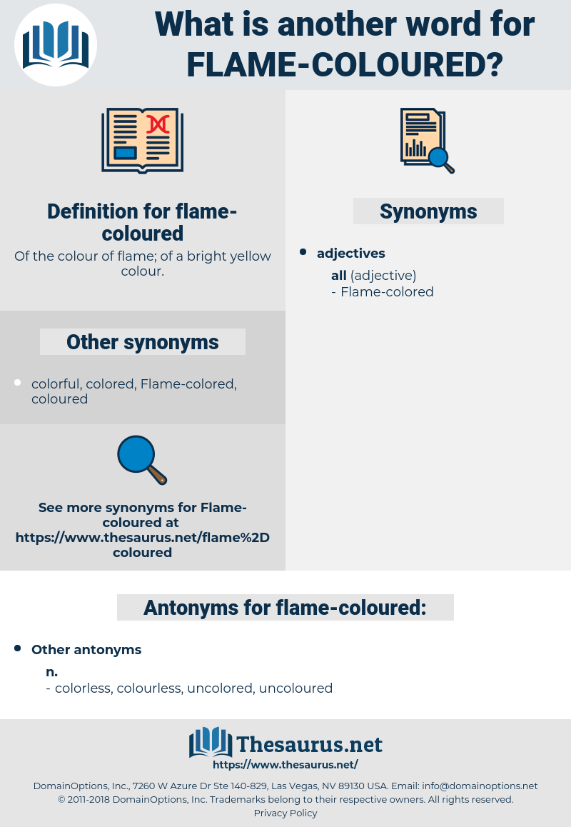 flame-coloured, synonym flame-coloured, another word for flame-coloured, words like flame-coloured, thesaurus flame-coloured
