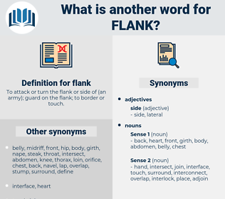 flank, synonym flank, another word for flank, words like flank, thesaurus flank
