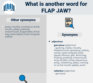flap jaw, synonym flap jaw, another word for flap jaw, words like flap jaw, thesaurus flap jaw