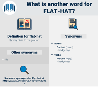 flat-hat, synonym flat-hat, another word for flat-hat, words like flat-hat, thesaurus flat-hat