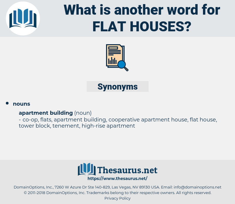 flat houses, synonym flat houses, another word for flat houses, words like flat houses, thesaurus flat houses
