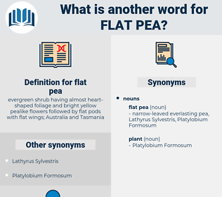 flat pea, synonym flat pea, another word for flat pea, words like flat pea, thesaurus flat pea