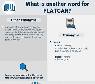 flatcar, synonym flatcar, another word for flatcar, words like flatcar, thesaurus flatcar