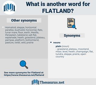 flatland, synonym flatland, another word for flatland, words like flatland, thesaurus flatland