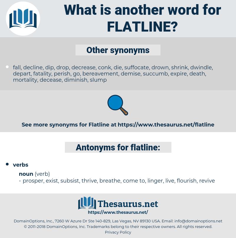 Synonyms For Flatline Antonyms For Flatline Thesaurus Net