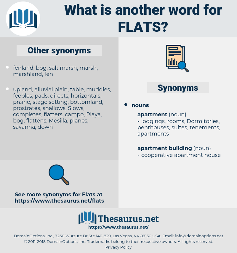 flats, synonym flats, another word for flats, words like flats, thesaurus flats