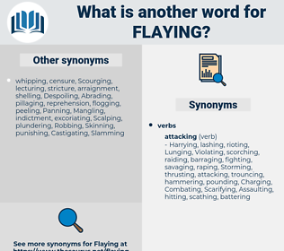 Flaying, synonym Flaying, another word for Flaying, words like Flaying, thesaurus Flaying