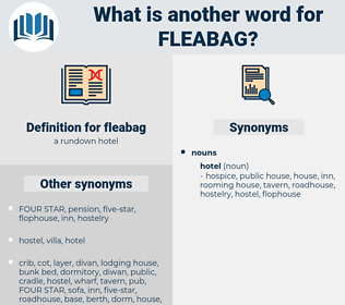 fleabag, synonym fleabag, another word for fleabag, words like fleabag, thesaurus fleabag