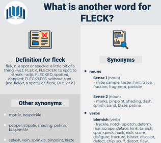 fleck, synonym fleck, another word for fleck, words like fleck, thesaurus fleck