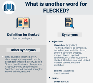 flecked, synonym flecked, another word for flecked, words like flecked, thesaurus flecked