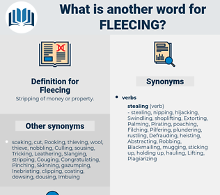 Fleecing, synonym Fleecing, another word for Fleecing, words like Fleecing, thesaurus Fleecing