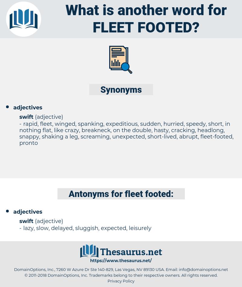 fleet-footed, synonym fleet-footed, another word for fleet-footed, words like fleet-footed, thesaurus fleet-footed