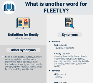 fleetly, synonym fleetly, another word for fleetly, words like fleetly, thesaurus fleetly