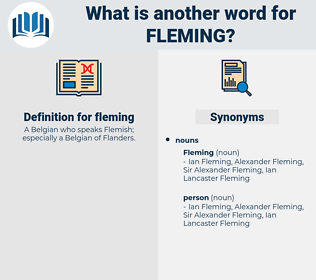 fleming, synonym fleming, another word for fleming, words like fleming, thesaurus fleming