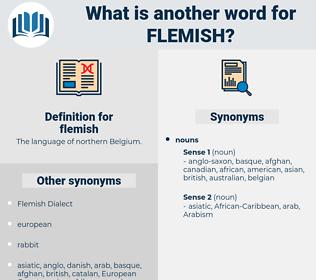 flemish, synonym flemish, another word for flemish, words like flemish, thesaurus flemish