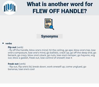 flew off handle, synonym flew off handle, another word for flew off handle, words like flew off handle, thesaurus flew off handle