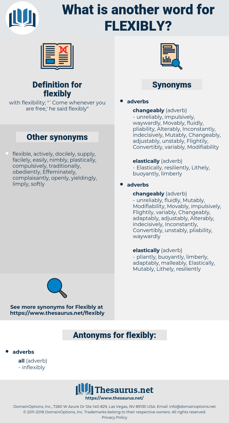 flexibly, synonym flexibly, another word for flexibly, words like flexibly, thesaurus flexibly