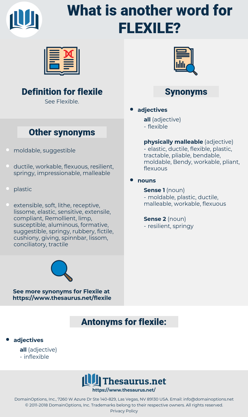 flexile, synonym flexile, another word for flexile, words like flexile, thesaurus flexile