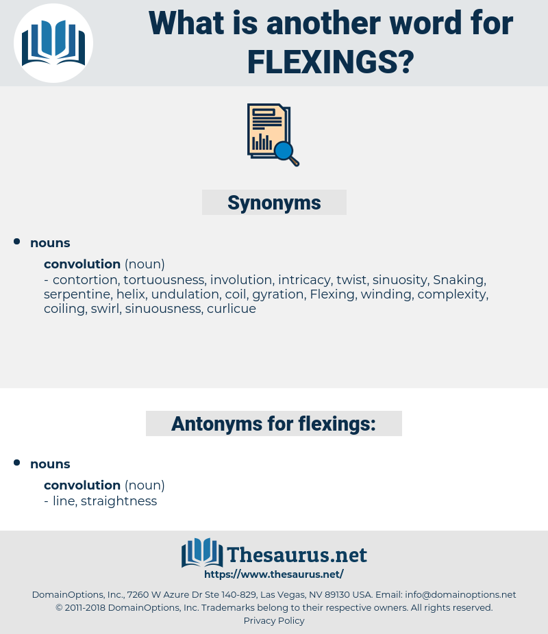 flexings, synonym flexings, another word for flexings, words like flexings, thesaurus flexings