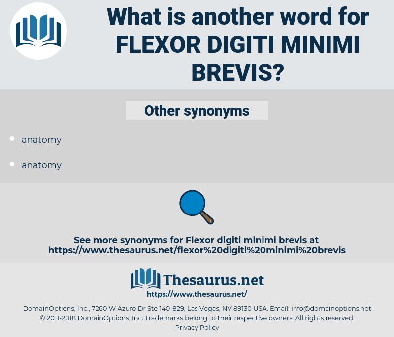 flexor digiti minimi brevis, synonym flexor digiti minimi brevis, another word for flexor digiti minimi brevis, words like flexor digiti minimi brevis, thesaurus flexor digiti minimi brevis