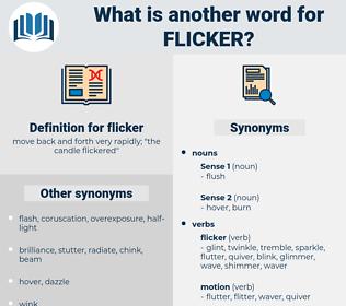 flicker, synonym flicker, another word for flicker, words like flicker, thesaurus flicker