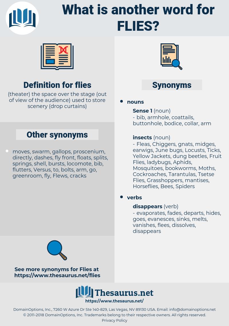 flies, synonym flies, another word for flies, words like flies, thesaurus flies